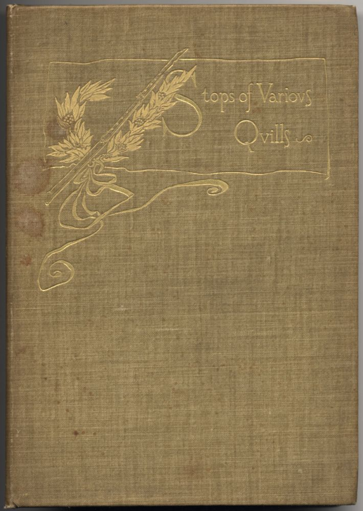 Stops of Various Quills. Illustrated byHoward Pyle. W. D. HOWELLS, Pyle.