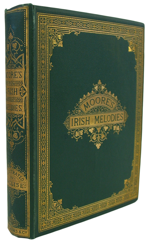 Moore's Irish Melodies. Illustrated by D. Maclise,R.A. Thomas MOORE.
