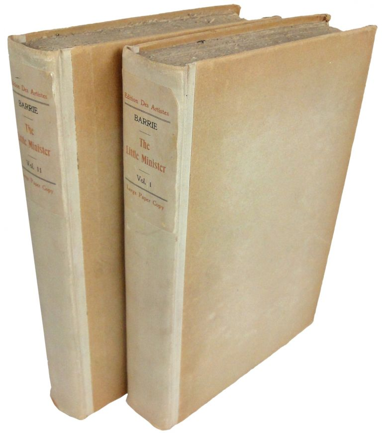 The Little Minister. In Two Volumes. J. M. BARRIE.