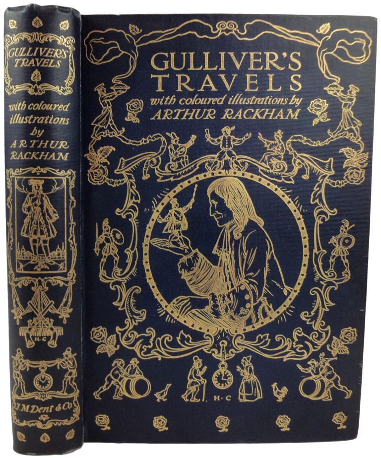 Gulliver's Travels Into Several Remote Nations Of the World. Illustrated by Arthur Rackham. Jonathan SWIFT.