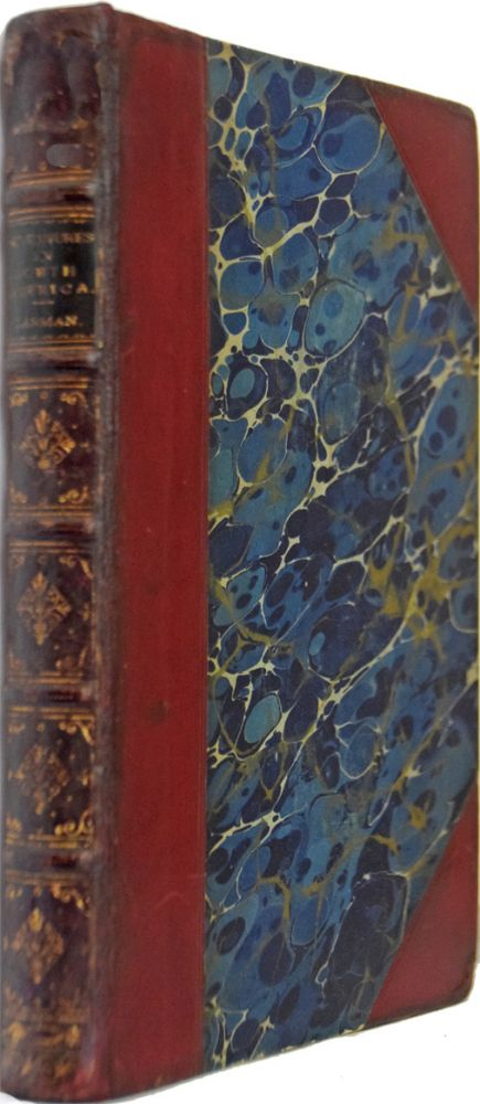 Adventures in the Wilds of North America. Edited by Charles Richard Weld. Charles LANMAN.