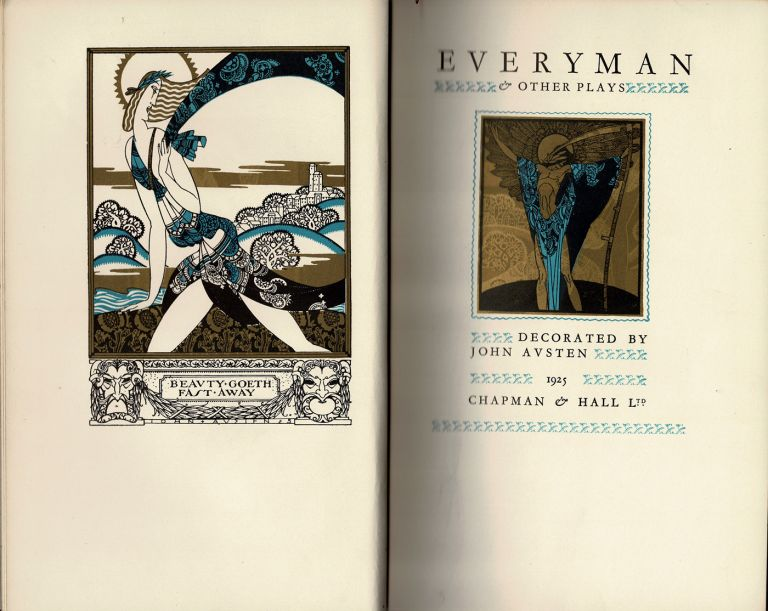 Everyman and Other Plays. John AUSTEN, illustrated.