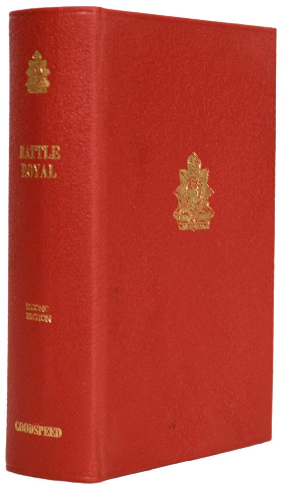 Battle Royal. A History of the Royal Regiment of Canada, 1862 - 1979. Maps drawn by W.R. Bennett. D. J. GOODSPEED.