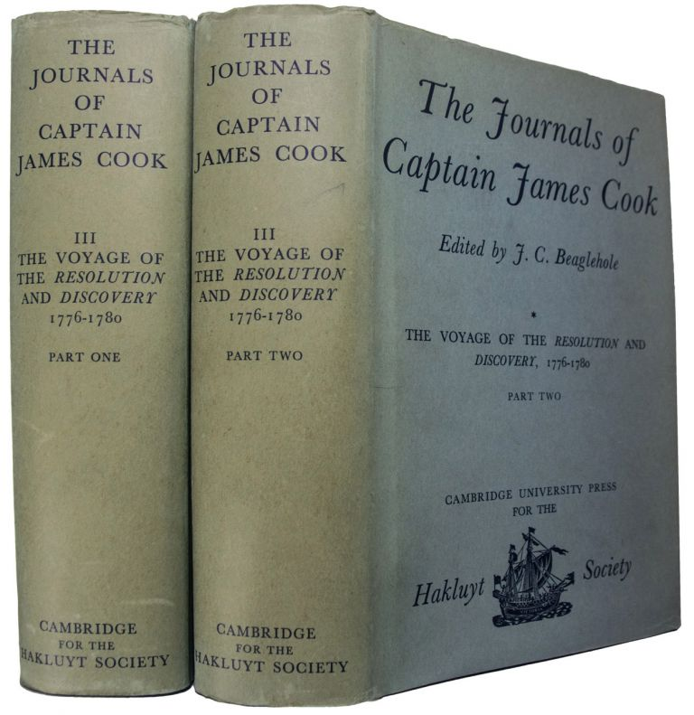 The Voyage of the Resolution and Discovery 1776-1780. Edited by J.C. Beaglehole. The Journals of Captain James Cook on His Voyages of Discovery. (Third Voyage). James COOK.