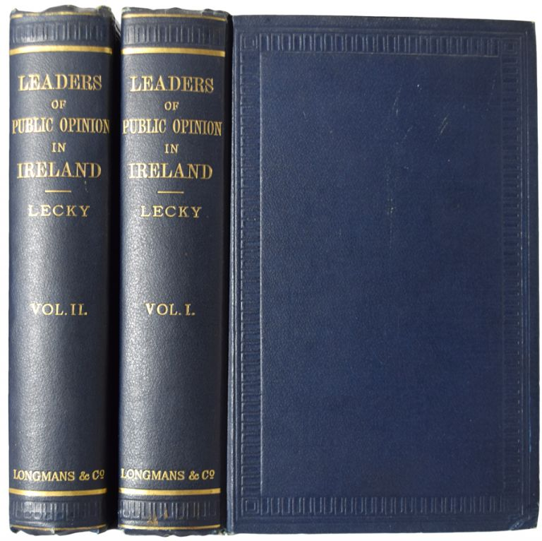 Leaders of Public Opinion in Ireland. In Two Volumes. William E. H. LECKY.