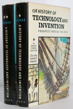 A History of Technology and Invention. Progress Through the Ages. Volume I: The Origins of...