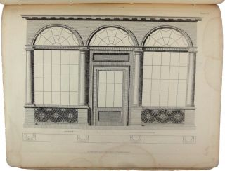 Designs for Shop Fronts and Door Cases (cover title).
