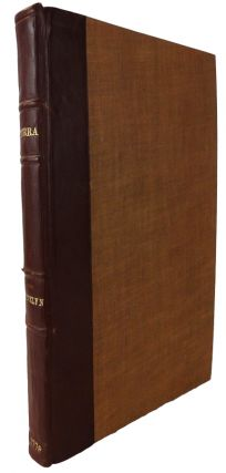 Terra: A Philosophical Discourseof Earth. Relating to the Culture and Improvement of it for Vegetation,and the Propagation of Plants, as it was presented to the Royal Society.A New Edition, with Notes by A. Hunter, M.D.