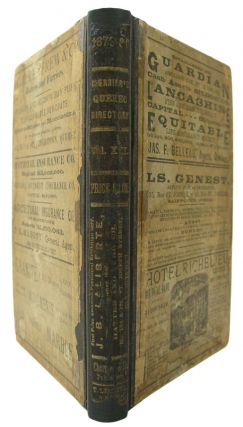 Cherrier's Quebec City Directory for the year ending May 3, 1880, containing an Alphabetical...