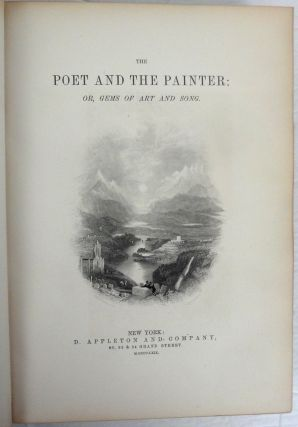 The Poet and the Painter; or, Gems of Art and Song.