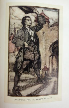 Gulliver's Travels Into Several Remote Nations Of the World. Illustrated by Arthur Rackham.