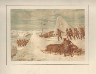 [From]. Shores of The Polar Sea. A Narrative of The Arctic Expedition of 1875-6. Illustrated by Sixteen Chromo-lithographs and numerous Engravings.