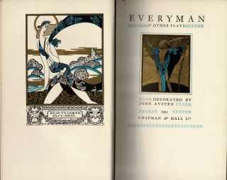 Everyman and Other Plays. John AUSTEN, illustrated