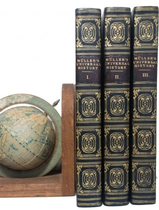 An Universal History, in Twenty Four Books. Translated from the German. (Bound in Three Volumes)....
